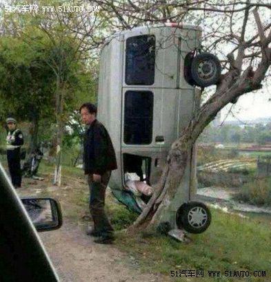 我说你们这些司机出车祸是为了逗比吗?