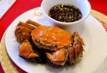 阳澄湖大闸蟹 美味让你难忘呀 看怎么吃,怎么好吃