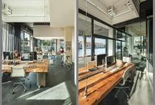 上班族的你一定想去这样的公司上班,为防止加班桌凳自动收起