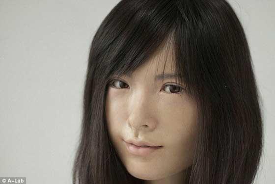 如果你不告诉你,你一定认为这个美女真的很漂亮 但她不是人~