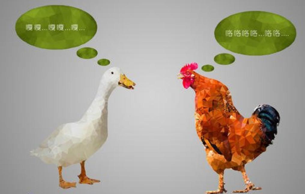 鸡同鸭讲这个词放到鸭语网站是不是也挺不错呢